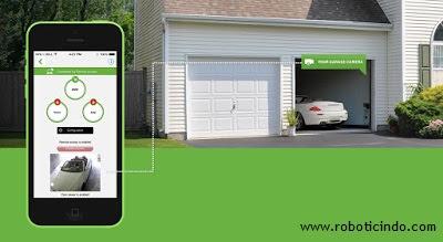 smart garage door - www.roboticindo.com