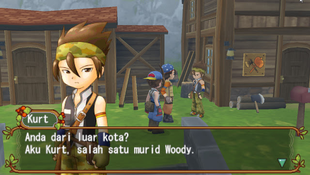 Harvest Moon Hero Of Leaf Valley Bahasa Indonesia