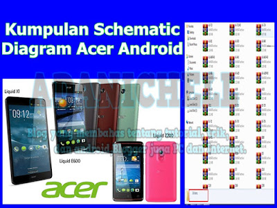 Kumpulan Schematic Diagram Acer Android
