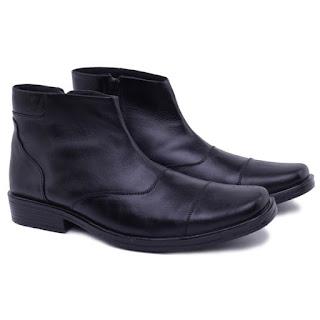 sepatu boots kerja,sepatu PDH kulit asli,gambar sepatu satpam kulit,grosir sepatu PDH TNI POLRI,grosir sepatu satpam murah bandung,pusat sepatu PDH kulit murah,gambar sepatu pantofel boots resleting