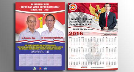 Cetak Kalender Partai