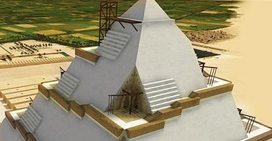 Grande segredo da contrução de pirâmides pode ter sido revelado