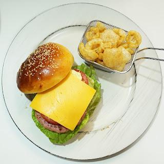 Hamburguesas de Pollo y Manzana