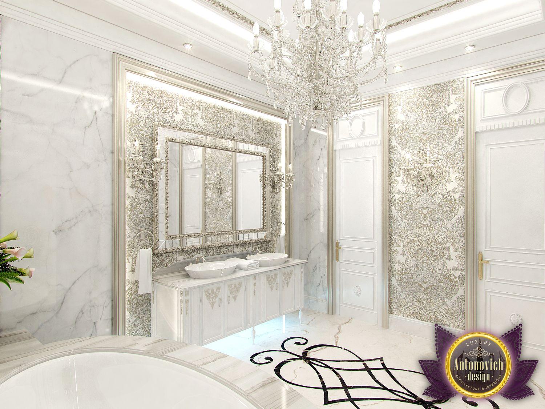 Luxury antonovich design uae interior bathroom from for Bathroom design uae