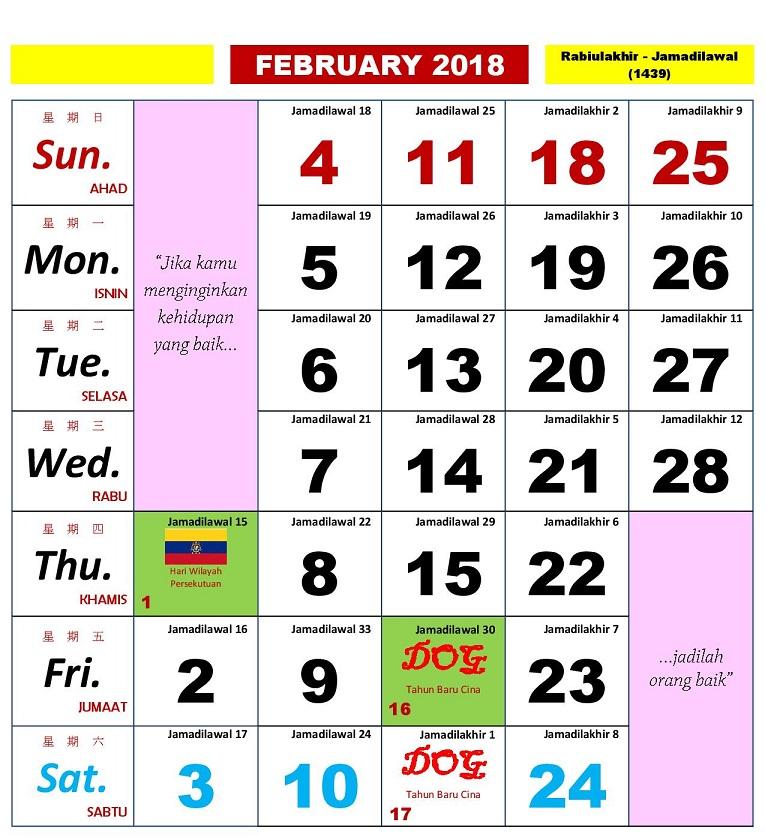 februari 2018