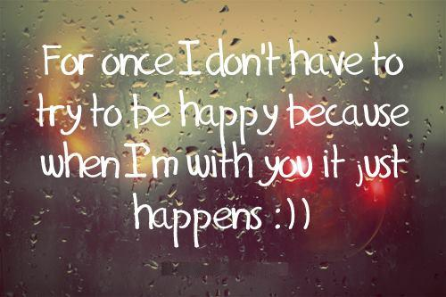 im happy with you quotes - photo #37