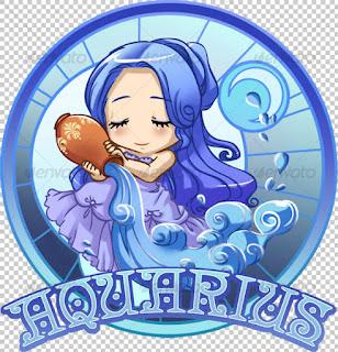 Kumpulan Gambar Zodiak Aquarius Keren | Kumpulan Wallpaper Zodiak
