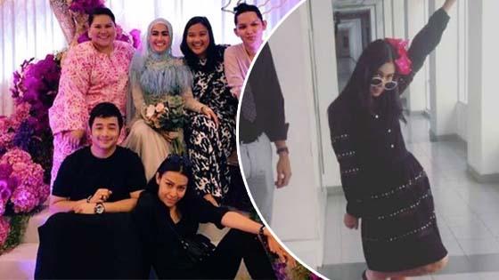 Sharifah Sakinah Akui Rosakkan Rakaman Majlis Pertunangan Elfira Loy