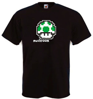 maglietto funghetto pixel