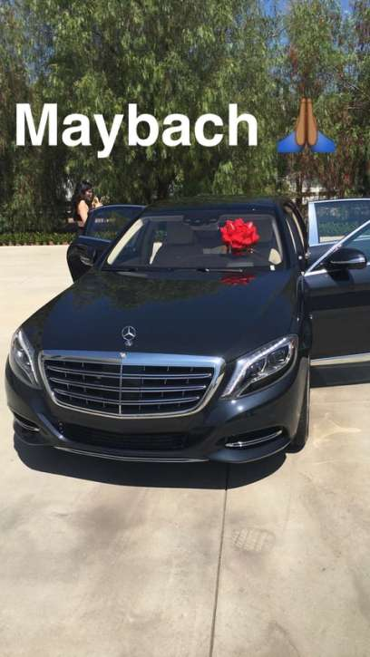 The Rack City Rapper Gifted His Soon To Be 19 Year Old Girlfriend With Mercedes Reportedly Worth 200000 As An Early Birthday Present