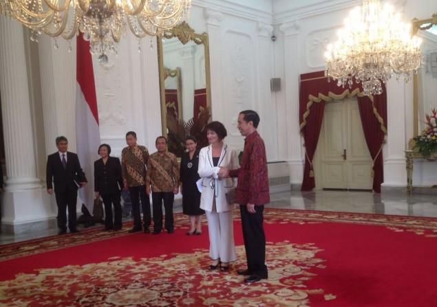 Temui Jokowi, Wakil Presiden Swiss Boyong 10 Perusahaan dan Delegasi Bisnis