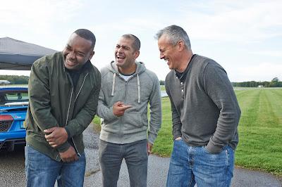 Rory Reid, Chris Harris e Matt LeBlanc em cena da série - Divulgação