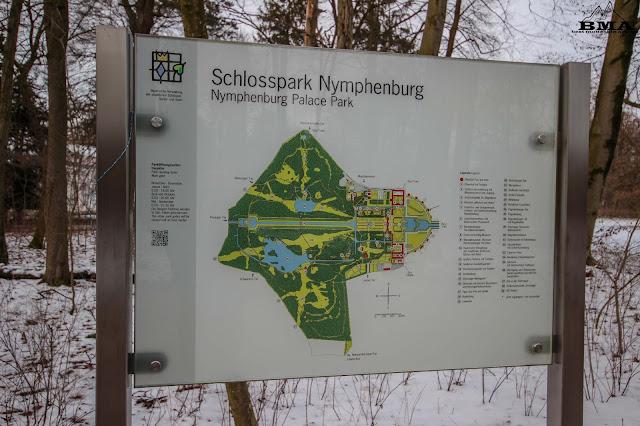 Wandern schloss nymphenburg - wanderung münchen