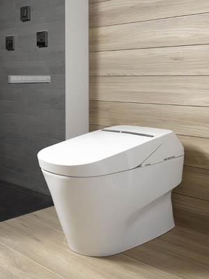 Bồn cầu kết hợp washlet ở Noritz 2018
