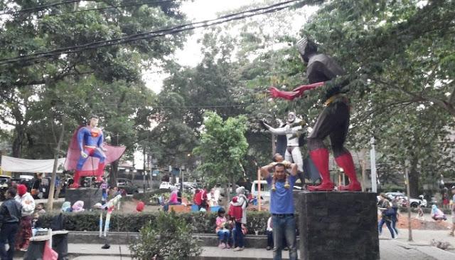 Tempat Wisata Taman Superhero Bandung