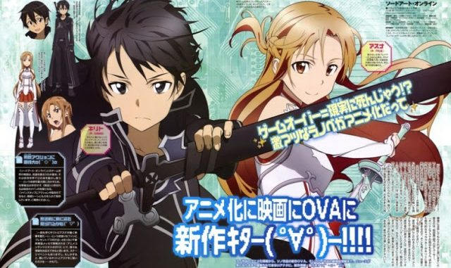Sword Art Online BD Episode 01-25 BATCH Subtitle Indonesia