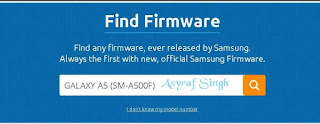 download firmware Samsung GALAXY A5