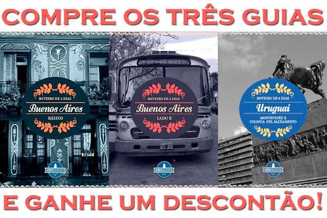 Compre os guias de Buenos Aires e Montevidéu aqui!