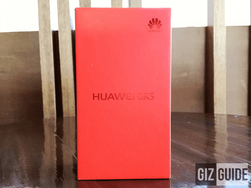 Red Huawei GR5 box