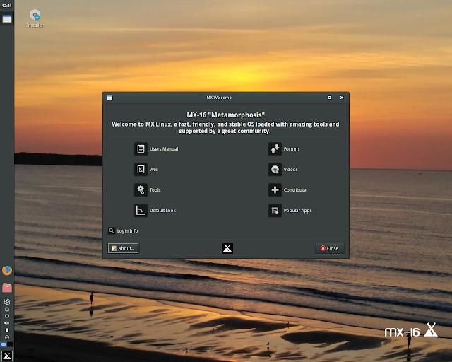 """Distribuição MX Linux 16 """"Metamorphosis"""" é lançada e sem o systemd"""