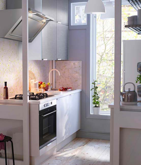 the finishes come in various materials and colors that will make your kitchen look more stylish - Ikea Kitchen Design Ideas