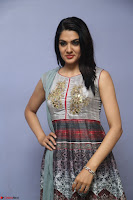 Sakshi Chaudhary Beautiful Emroidery Work Sleeveless Anarkali Dress 037.JPG