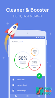 Power Clean Antivirus Cleaner and Booster App Mod AdFree APK