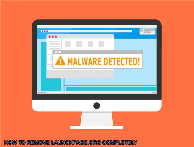 Cara mengatasi virus launchpage.org