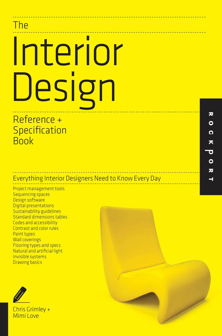 The interior design reference specification book updated revised everything interior for The interior design reference specification book