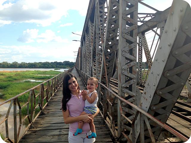 Ponte em Pirapora : Rio São Francisco