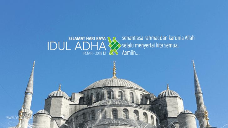 Kumpulan Ucapan dan Kata-kata Mutiara Selamat Idul Adha 1439 H
