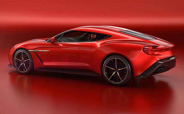 2016 Aston Martin Vanquish Zagato Concept Rear Wallpaper