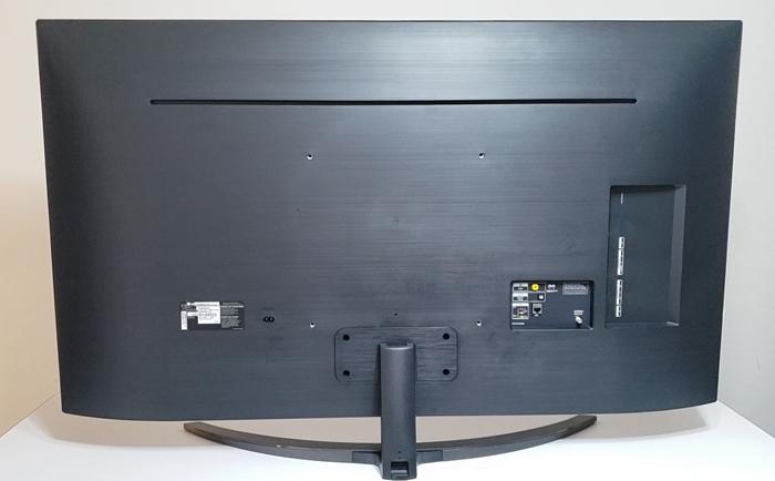 Televisor Lg Sm9000 parte posterior diseño