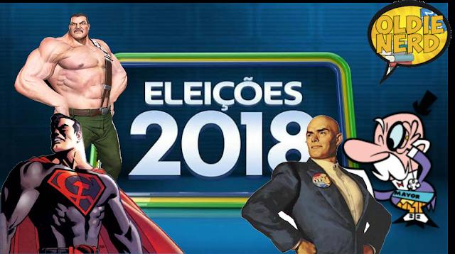 Eleições 2018 da polaridade Bossonaro Ciro HaddadAlckmin
