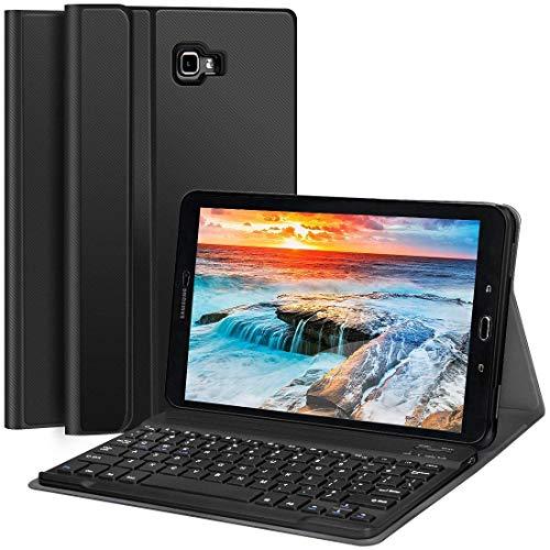 CHESONA Galaxy Tab A 10 1 Keyboard Case Compatible Samsung Galaxy Tab A  10 1 inch SM-T580/T585 Ultra