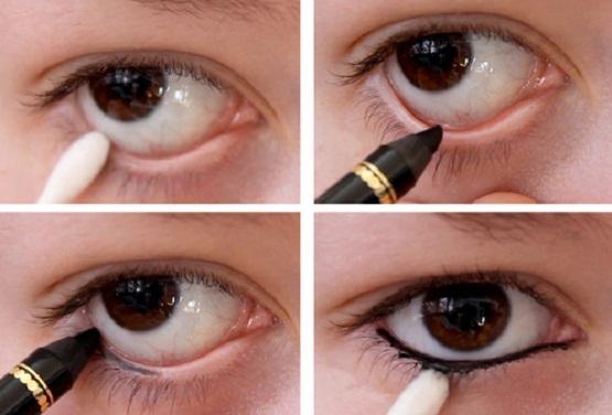 cara memakai eyeliner pensil agar tidak luntur,cara memakai eyeliner untuk mata sipit