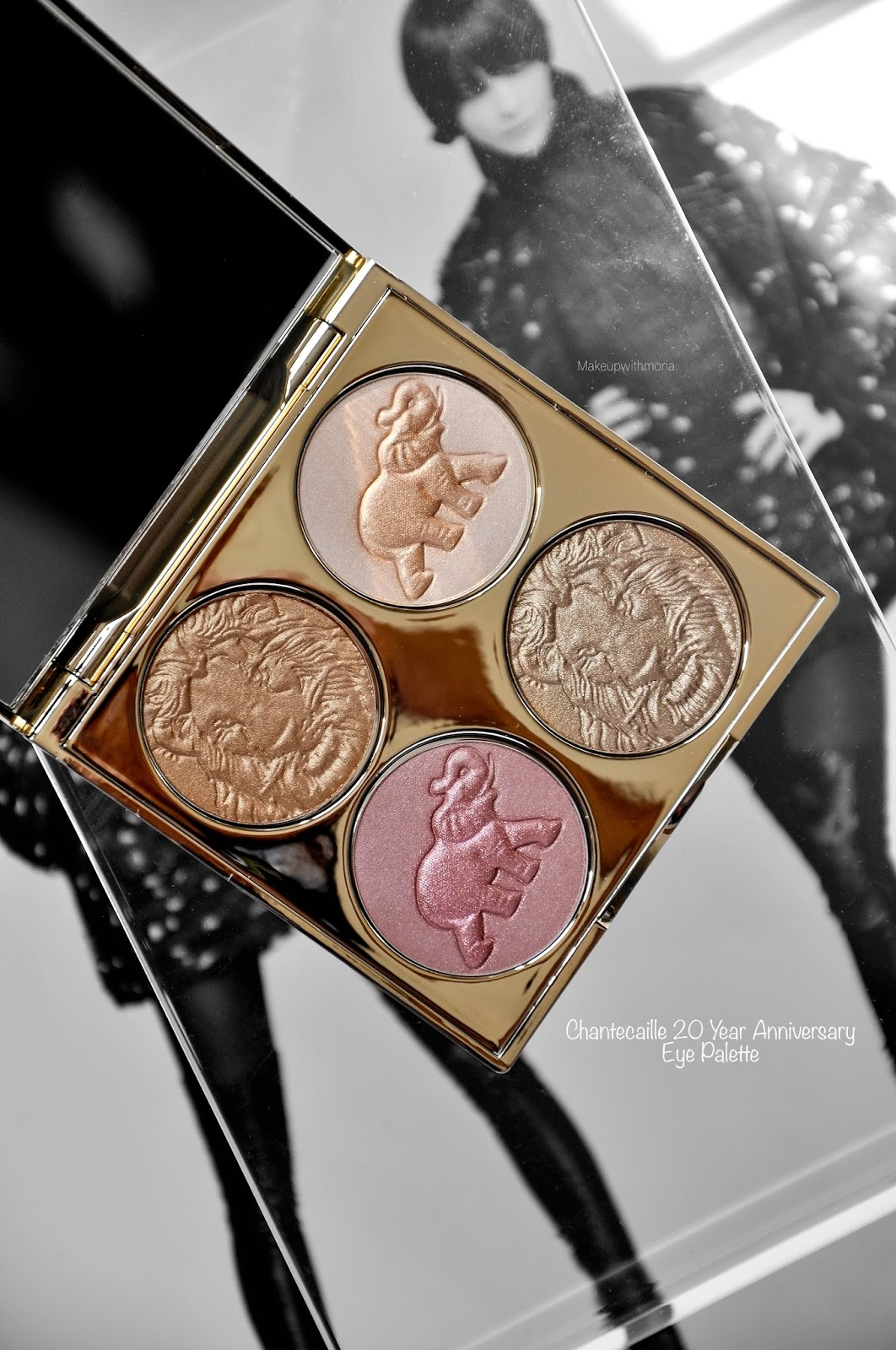chantecaille 20 year anniversary palette review and swatches