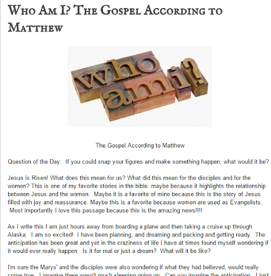 google scholarly essays gospel according to matthew discipleship What did jesus teach about the future (see william l lane, the gospel according jesus answered both questions at the beginning of matthew's gospel.