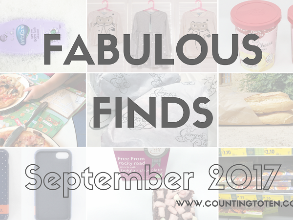 Fabulous Finds for September 2017
