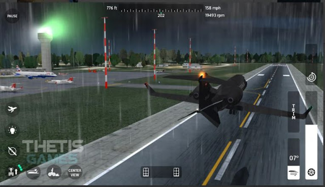 Game Pesawat Android Offline Flight Simulator 2018 Apk