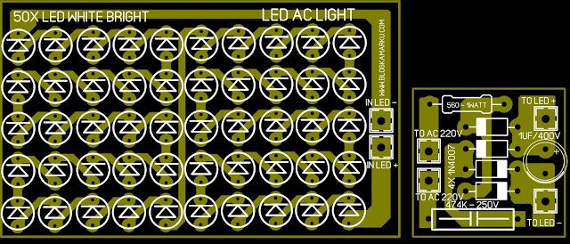 cara membuat lampu led untuk rumah dan kamar