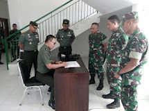Korem 133/Nani Wartabone Menerima Kunjungan Rombongan Irjenad