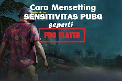 Cara setting sensitivitas PUBG Seperti PRO PLAYER! | carabapak.com