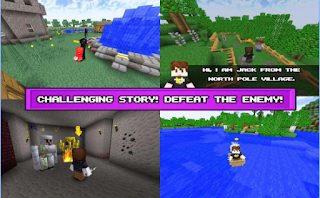 Game Block Survival Craft:The Story App
