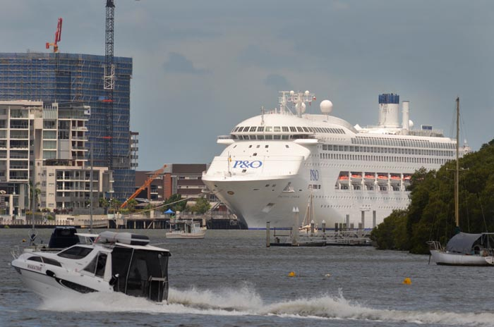 Travel With Giulio Pacific Dawn Refurbishment June 2012