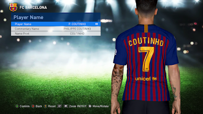 PES 2017 Tattoo Pack 600 + Fix New Face 2019 by Rean Tech