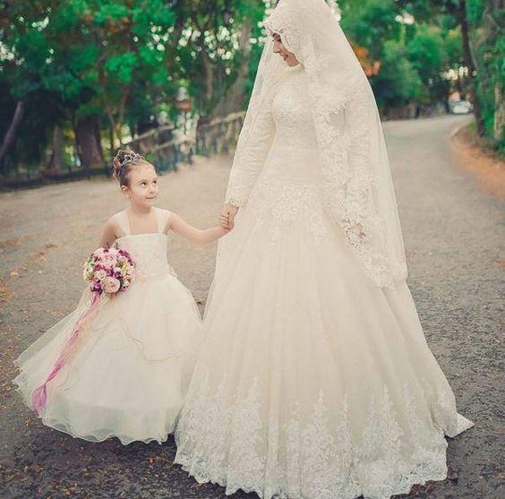 Model Baju Pengantin Muslimah Modern Terbaru