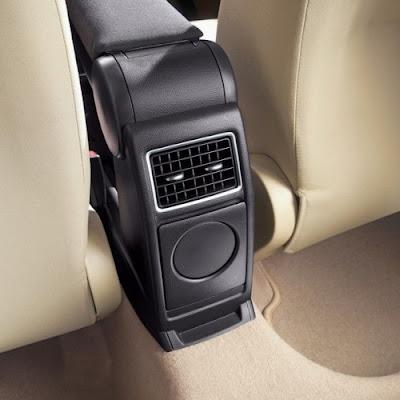 Volkswagen Ameo rear ac