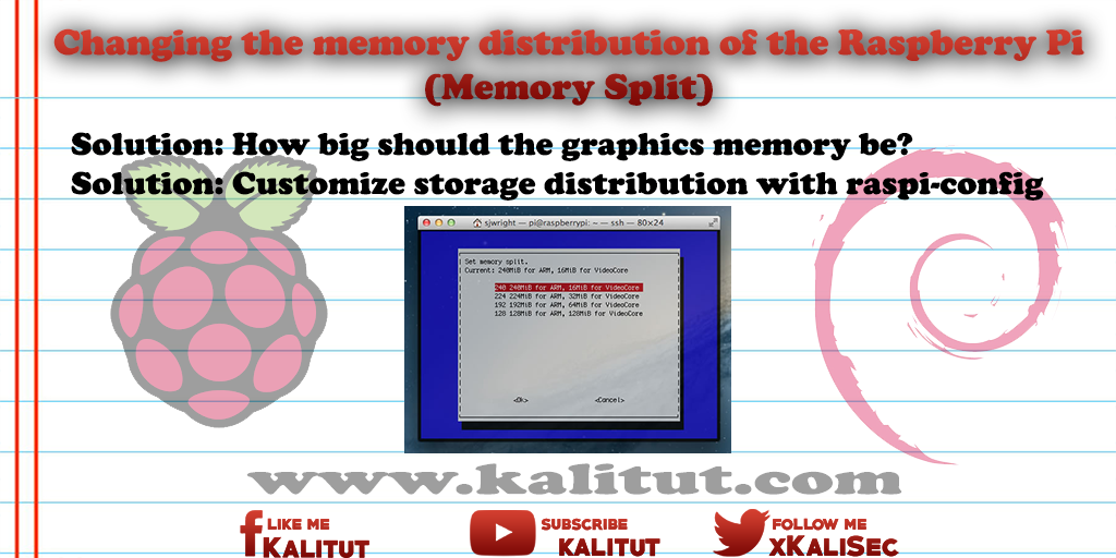 Raspberry Pi  Memory Split