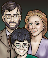harry potter familia